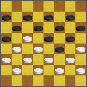 Анализ игры в шашки. Победа или ничья?
