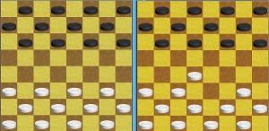 Правила игры в русские шашки