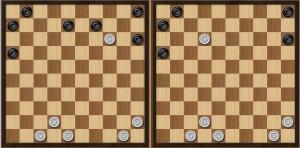 Международные шашки. Отличия от русских
