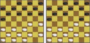 Внимание к игре в шашки