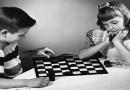 Интересная шашечная комбинация