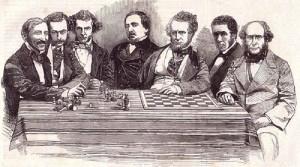 Андерсен в турнире 1851г.