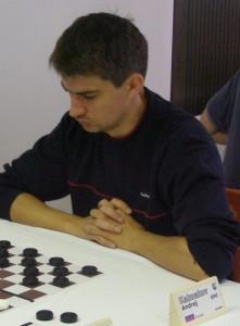 Андрей Калмаков. Шашки