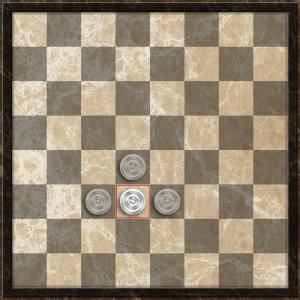 Турецкие шашки. Правила ходов