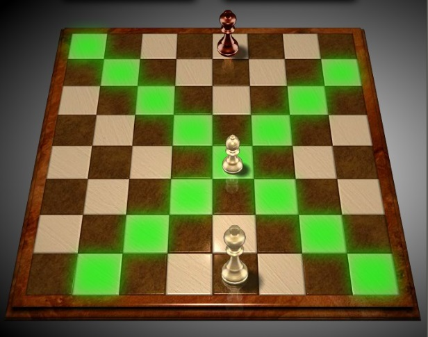 Правила игры в шахматы.  Слон