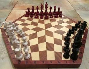 Гексагональная шахматная доска
