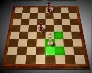 Правила игры в шахматы. Битые поля