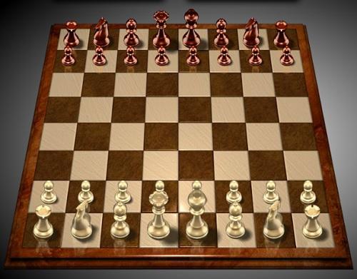 Правила игры в шахматы. Стартовая позиция