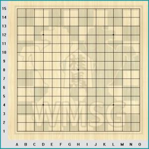 Правила игры Рэндзю - Пустая доска для игры в Рендзю