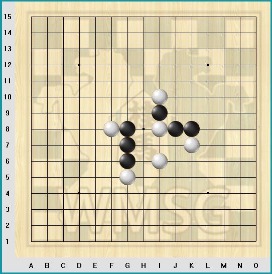 Задачи по тактике Рэндзю 3х4