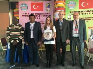 Новости в мире спортивных интеллектуальных игр - турецкие шашки