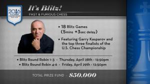 Ultimate Blitz Challenge 2016 с Гарри Каспаровым