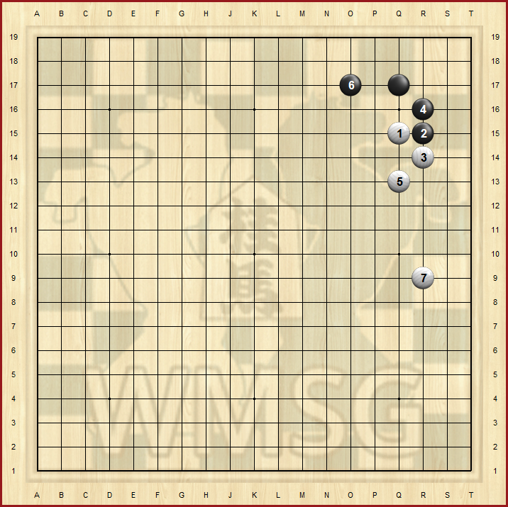 Пункт 3-4 в го - атака белых