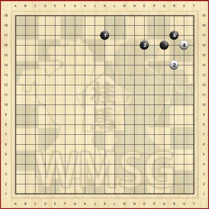 Пункт 4-4 в го - базовый дзёсеки