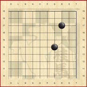 шимари (shimari) 3-3 6-4